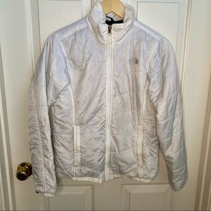 The North Face Women's White Liner Down Jacket
